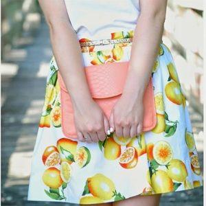 Banana Republic Lemon Print Skirt 🍋